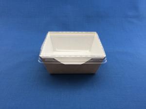 ECO OpSalad  350 (внутр. 100x85 h 55 мм), 350 мл, КРЫШКА 1*50+ ДНО 1*50 (350)
