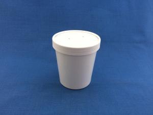 ECO SOUP 16W (d-75 h 100 мм) 445мл, Белая, ДНО 1*25+ КРЫШКА 1*25 (250)