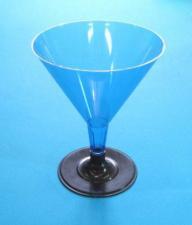Бокал для мартини 100 мл, синий, 1*6 (252)
