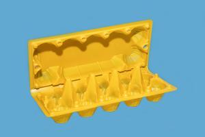 Бокс под яйцо РП-10 желтый, 1*300