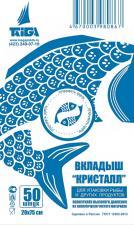 Вкладыш ЛПВД 200х750, Рыба Кристалл, 1*50 (20 уп.)
