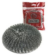 Губка метал. для посуды ТЕХТОР, 40 гр. (120 уп. в кор.) Арт. Т012