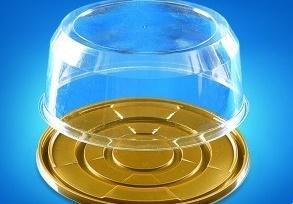 Контейнер ПР-Т-233 ДШ, золото, ПЭТ 1*100