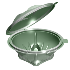 Контейнер УК-122 (вн. d-135*82мм) 540 мл, 1*300