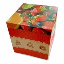 Коробка для торта 42х42 см, h 45см  картон, 1*25*25*25