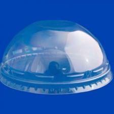 Крышка d- 95 мм к стакану Pulsar, прозр, без отв., купольная, 1*50 шт. (800 шт./16 уп. в кор.)