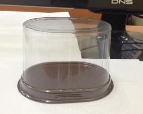 Крышка прозрачная , PVC, 103*79 мм, 1*100 (2000 шт.) арт. L103-79-65FO