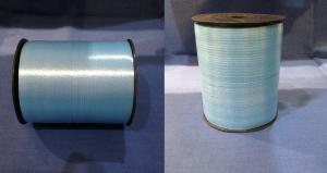 Лента 0,5 см х 500 м голубая на бобине (20)