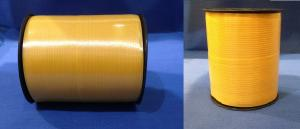 Лента 0,5 см х 500 м желтая на бобине, 1*4 (20)