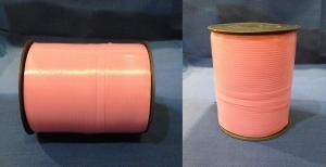 Лента 0,5 см х 500 м розовая на бобине (20)