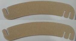 Манжета на стакан 280х55 мм, бурый МГК без печати, 2-х слойная, 1*50 шт. (1000 шт./20 уп. в кор.)