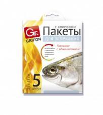 Пакет для запекания рыбы 25х55,  GRIFON (5шт/уп 24/96) Арт. 101-210