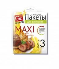 Пакет  для запекания универсальный  GRIFON MAXI 45х55см, (3шт/уп, 24/96)  Арт. 101-212
