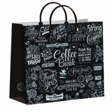 Пакет из мягкого пластика 30х30 см, Кофе-брейк, 1*10 (40)