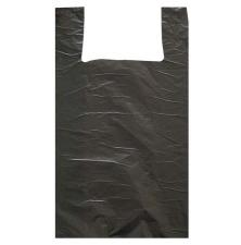 Пакет майка ПНД 35/8х60, 40 мкр,  черная 1*100 шт. (1500 шт./15 уп. в кор.)