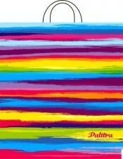 Пакет с петл.ручкой 38х42, ПАЛИТРА, 40мкм,1*25 (500)
