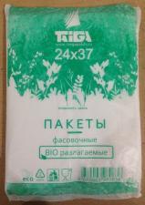 Пакет фасовочный 24х37 BIO Эко, ПНД, 1*400 шт.(50уп) Тайга