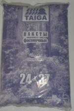 Пакет фасовочный 24х37, 18 мкм, ПНД, 1*200 шт. (40уп) Тайга фиолет.