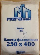 Пакет фасовочный 25х40,  9 мкм, ПНД, 1*500 шт. (30 уп) МЕГАПАК