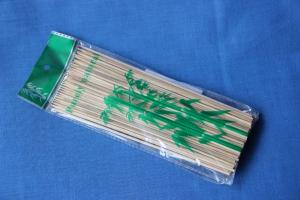 Палочки для шашлыка 25 см деревянные, 1*100 (100 уп в кор)