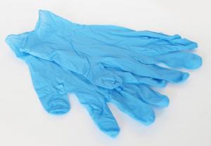 Перчатки медицин., текстур. нитриловые, размер XL, 1*100шт/50 пар КЛЕВЕР (10уп/кор)