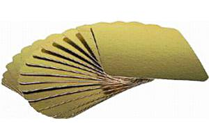 Подложка ЗОЛОТО 130х200 мм, (толщ. 0,8 мм) 1*100 шт. /1 уп.