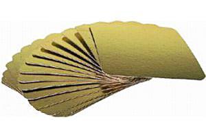 Подложка ЗОЛОТО 170х250 мм, (толщ. 0,8 мм) 1*100 шт. / 1 уп.