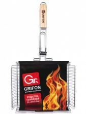 Решетка глубокая Grifon  31*24*5,5 см, сталь 2 мм, 1*16, Арт. 600-003