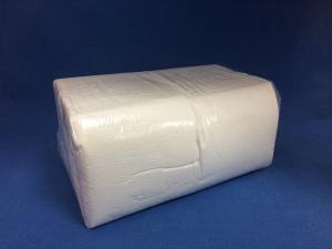 Салфетки 600 л, белые, 1-сл. 24х24см, 9 уп/кор, П
