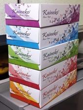 Салфетки-выдергушки Kaineko (цветы) 200 л, 2-сл., 1*5 (12 уп/кор) Арт. 3204