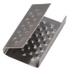 Скрепа металлическая 12 мм, оцинк. (1000)