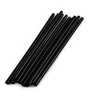 Соломка d 8 мм, L 240 мм, черная, 1*250 шт (28 уп/кор) Ю