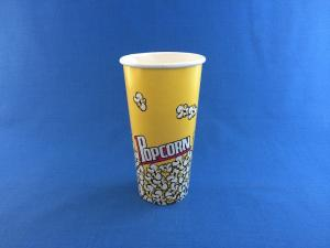 Стакан бумажный Попкорн,  24 oz (720 мл), 1*50 (1000)