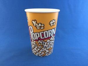 Стакан бумажный Попкорн,  46 oz (1380 мл), 1*50 (500)