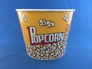 Стакан бумажный Попкорн,  85 oz (2550 мл), 1*50 (300)