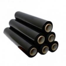 Стретч пленка для поддонов 500мм*300м, 20 мкм, черный (6) (258) Л