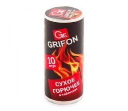 Сухое горючее Grifon, в таблетках, 10 штук, 1*40, Арт. 600-131