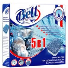 Таблетки для посудомоечных машин 5 в 1, 10 шт в упак, (16 уп в кор) AquaBELL
