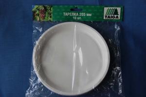 Тарелка закусоч. d-205мм, 1*10 шт.