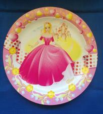 """Тарелка картонная 230 мм, """"Принцесса"""",1*100 (500)"""