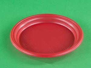Тарелка мелк. 205 мм РS красная, 1*100 (1800) СТ