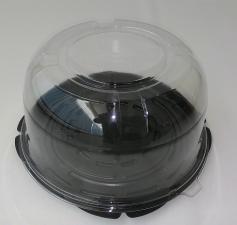 Контейнер Т-200 Сфера (Вн. d-195 мм, h-110 мм), дно коричн., 1*60 (120), Альбатрос
