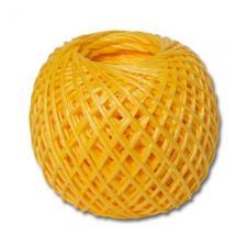 Шпагат ПП 1600 текс по 0,2кг, 125 м, желтый (30)