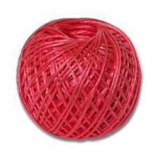 Шпагат ПП 1600 текс по 0,2кг, 125 м, красный (30)