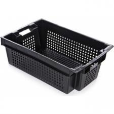 Ящик № 2-Д для овощей и фруктов  (600х400х200) с перфорацией