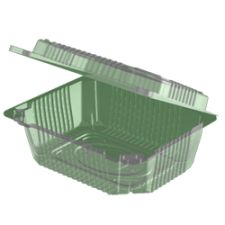Контейнер УК-38 (вн. 121х90х49) 600 мл, 1*200 (800шт/кор) (ОПС) аналог РК-11, РП-6н