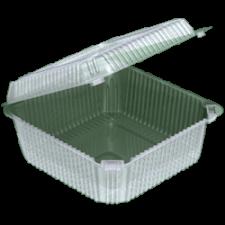Контейнер УК-45А  (вн. 127х127х63 мм) 1200 мл, 1*110 (440шт/кор) (ОПС) аналог  РП-9н, ПК-2115