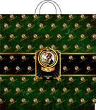 Пакет с петл.ручкой 44х44, НАПОЛЕОН, 70мкм, 1*25 (500)